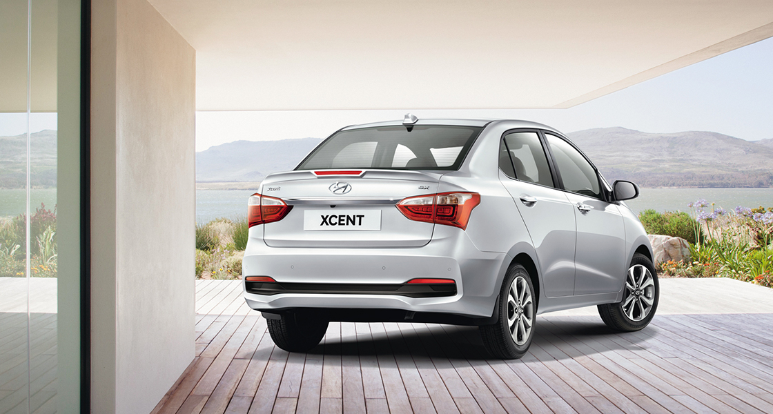 Xcent car Gallery